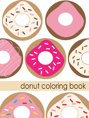 Donut coloring book cover copy3