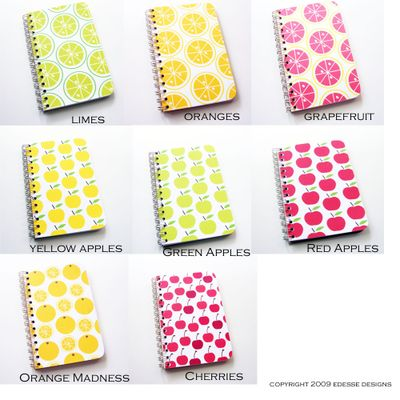 All fruit notebooks2